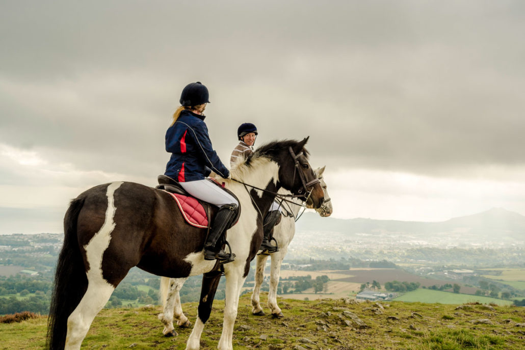 Day Tour of Wicklow, Horse riding