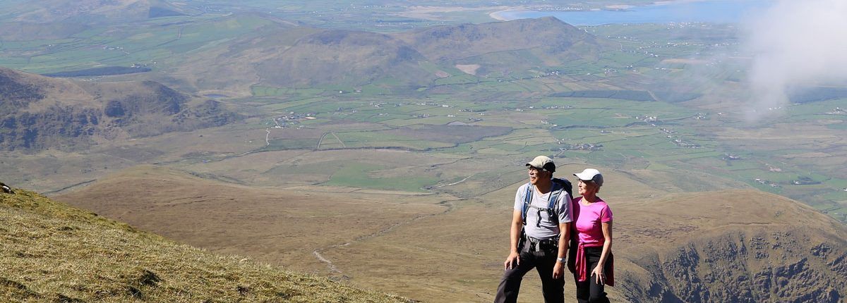 Walking Mt Brandon, Kerry
