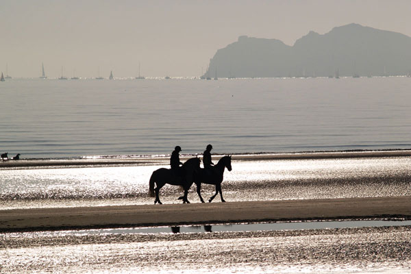 Horseback riding in Kerry