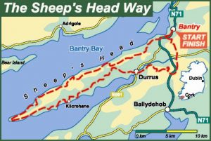sheeps head way map