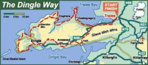 The Dingle Way Map