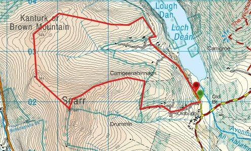Scarr Mountain Route