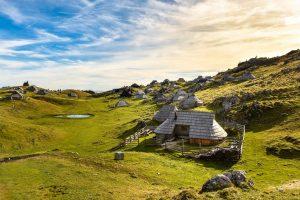 Velika Planina huts-Slovenia