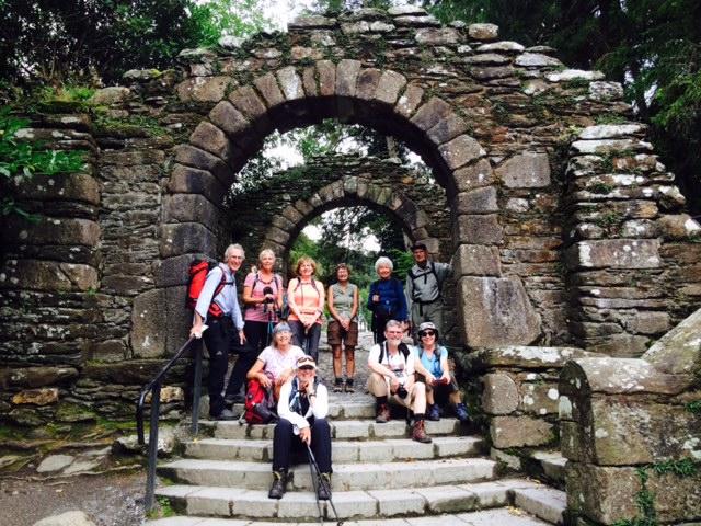 St Kevin's monastery - Glendalough
