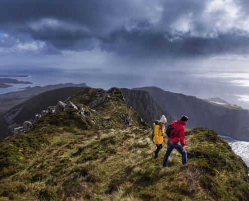 Walking in Donegal