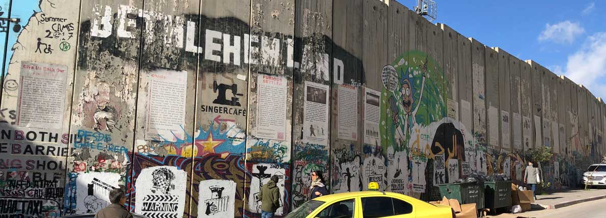 Wall in Bethlehem