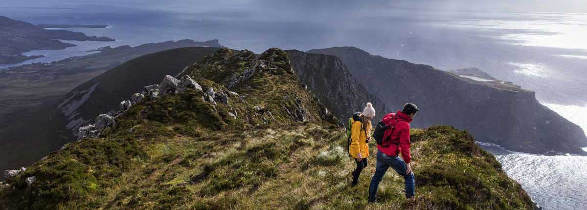Guided walks in Donegal