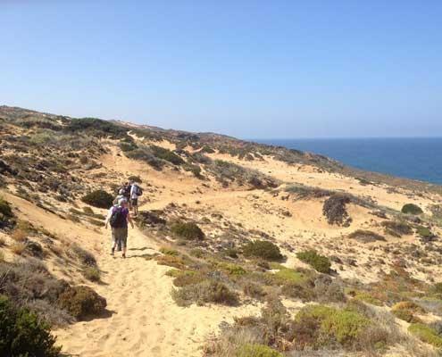 Beach walk Portugal