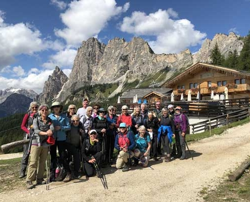 Walking Tour in the Dolomites