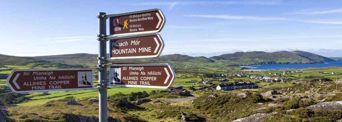 walking & hiking holidays in Ireland